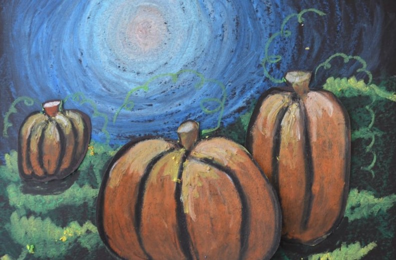 moonlit pumpkins