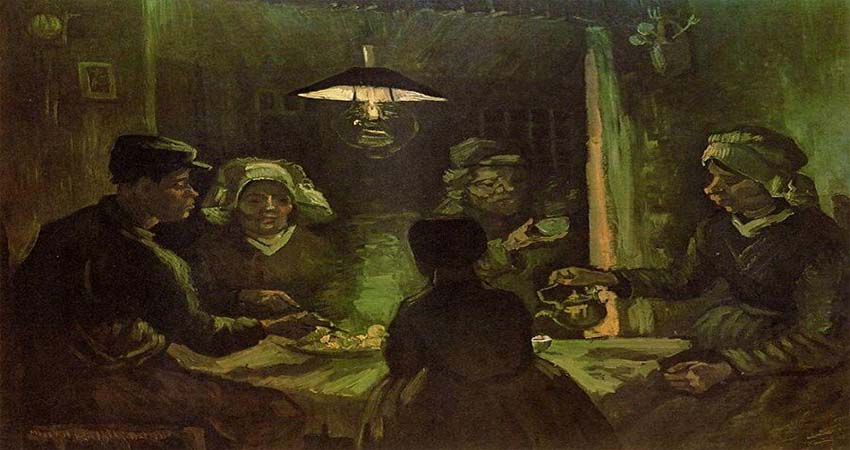 The Potato Eaters and The Starry Night by Vincent Van Gogh: An Interpretation